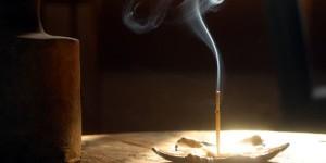 incense daylight