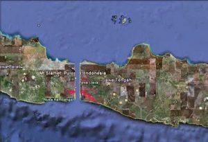 pulau jawa terbelah dua